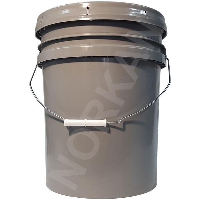 Empty 5 Gallon Plastic Bucket W Lid