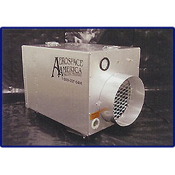 Aerospace America Aeroclean 600 Mag Negative Air Machine - w/ HEPA Filter