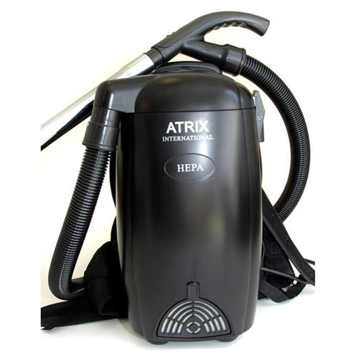Atrix Backpack - HEPA Filter Vacuum Cleaner - Stairs Draperies Blinds