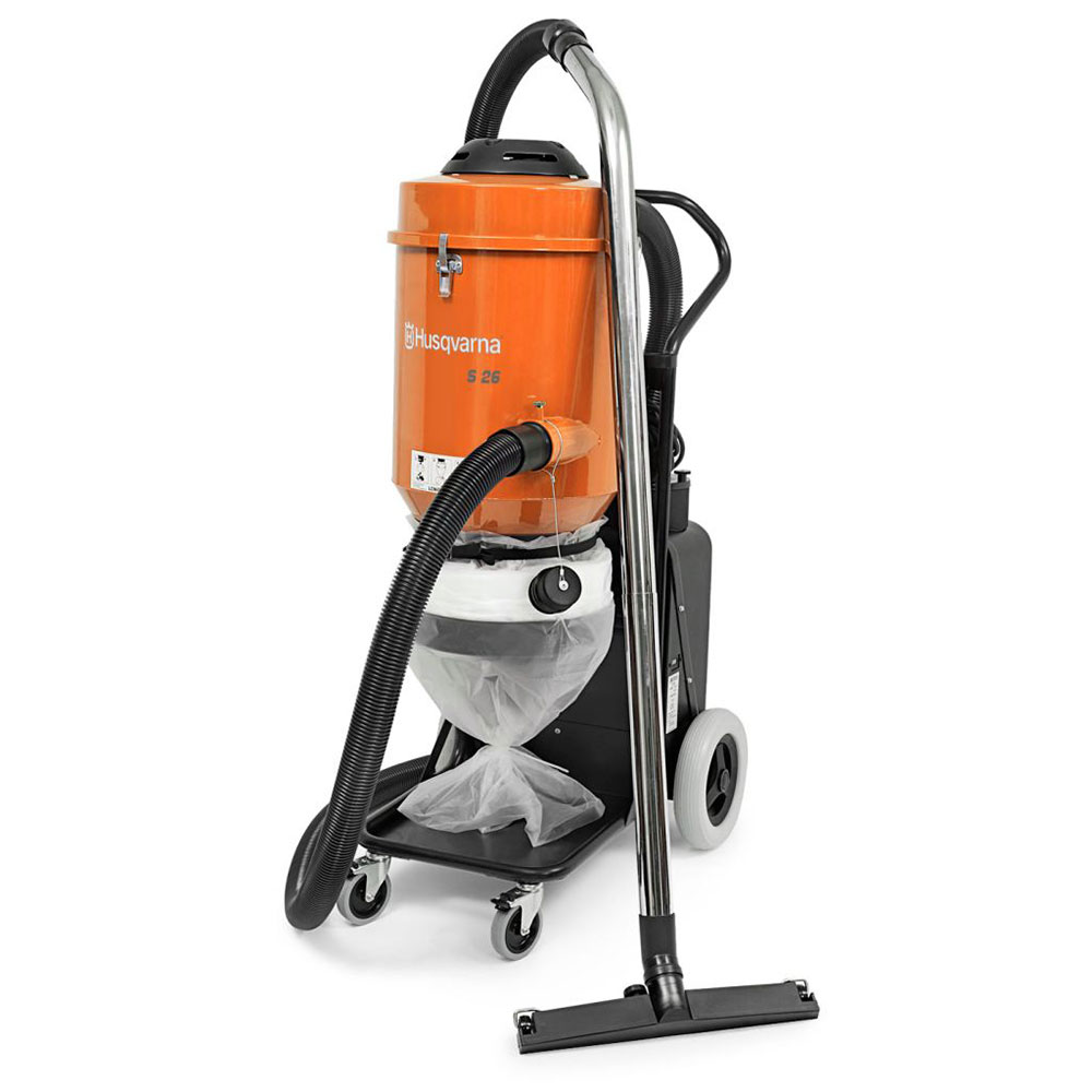 Husqvarna S26 - 120V HEPA Vacuum - Dust Collection System (Formerly Pullman Holt)