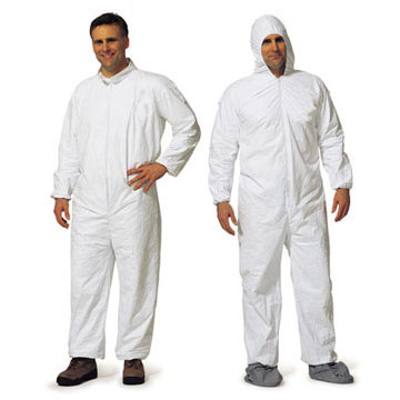 Malt ProMax 1014 Coveralls with Hood, Boots, and Elastic