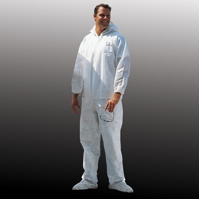 Malt PyroMax 7414 Coveralls with Hood, Boots, and Elastic