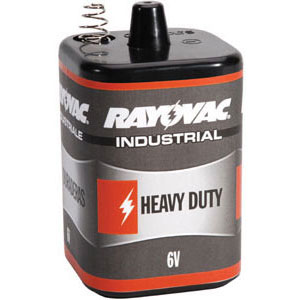 Rayovac Industrial Heavy Duty 6V Lantern Battery