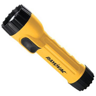 Rayovac I2D-Bulk Industrial Flashlight - Durable for Contractors