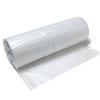 4 Mil White Plastic Sheeting - Flame Retardant 20 x 100