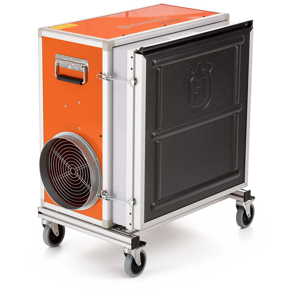 Husqvarna A2000 - Negative Air Machine - Scrubber - HEPA Filter (Formerly Pullman Ermator A1200)
