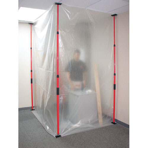 Zipwall Amp Containment Rooms Discount Visqueen Plastic