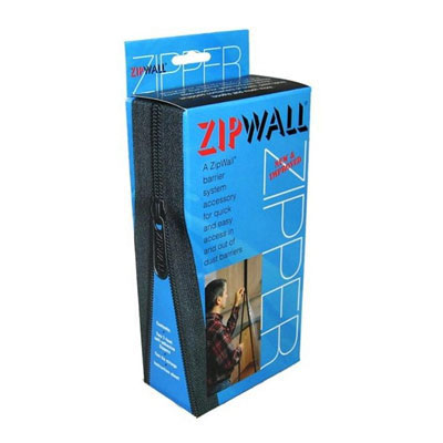 ZipWall Dust Barrier System Door Zippers