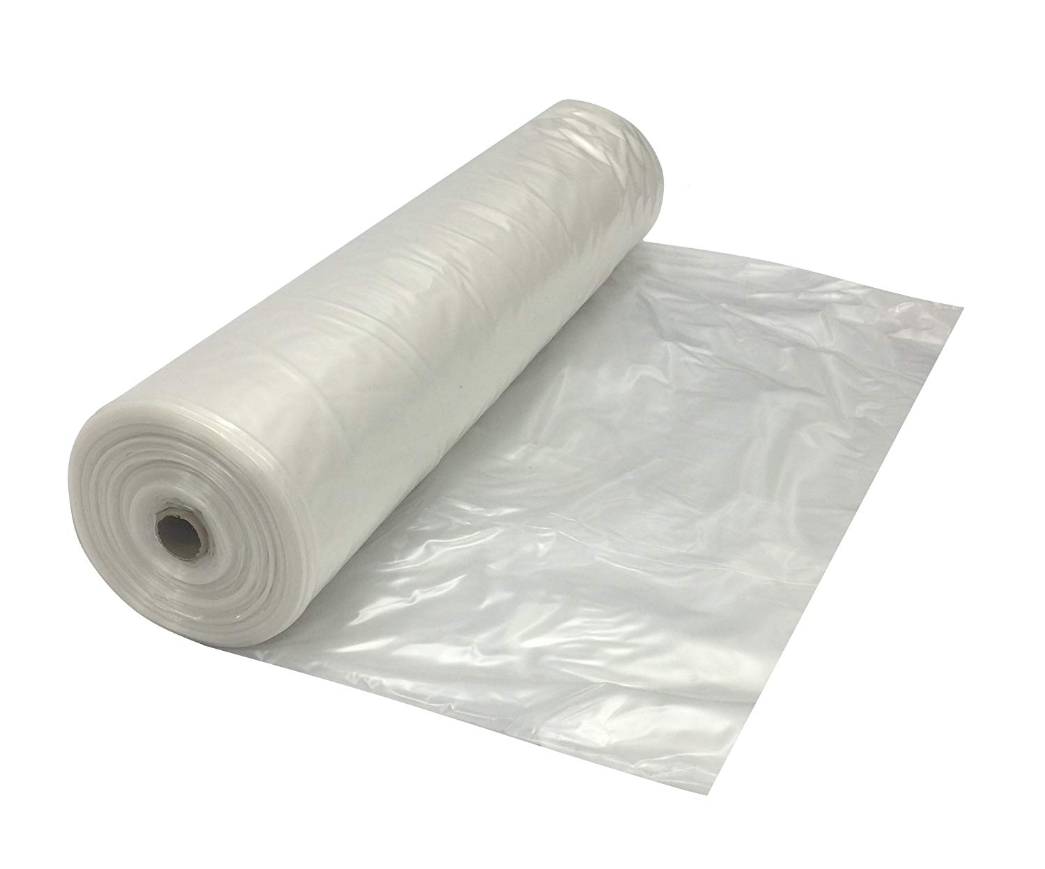 Clear Plastic Rolls | Visqueen Poly Sheeting