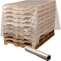 Pallet & Packaging Covers - Plastic Poly Sheeting Example