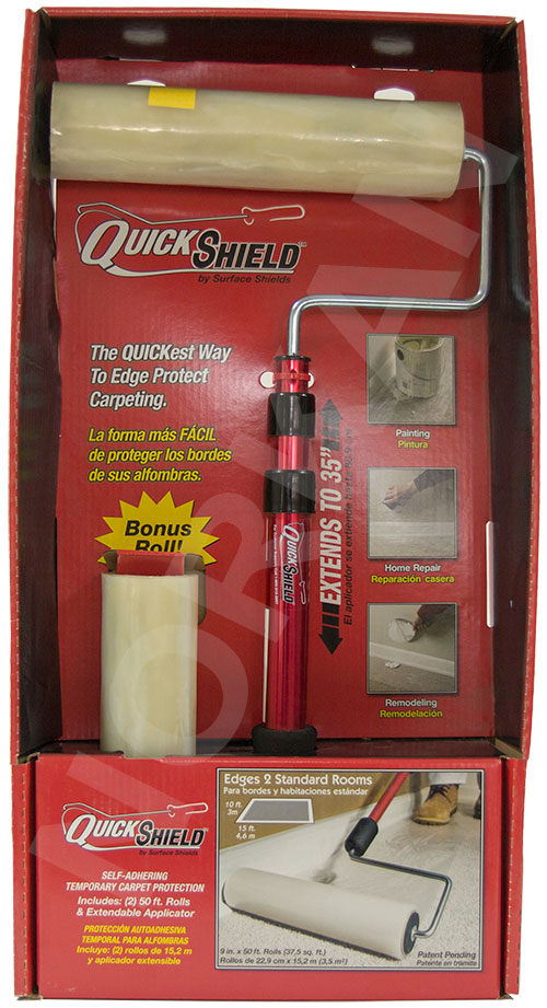 Quick Shield - Self Adhering Film & Applicator