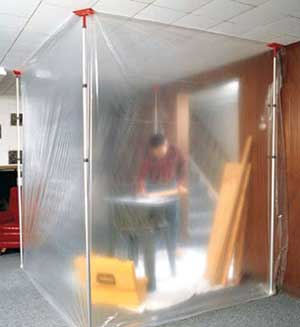 Zipwall Barrier Containment Kit